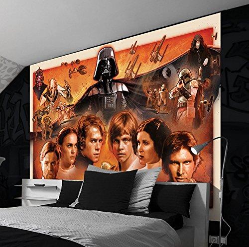 Wizzard & Genius wg-1591p4-lc Star Wars El Despertar de la fuerza foto papel...