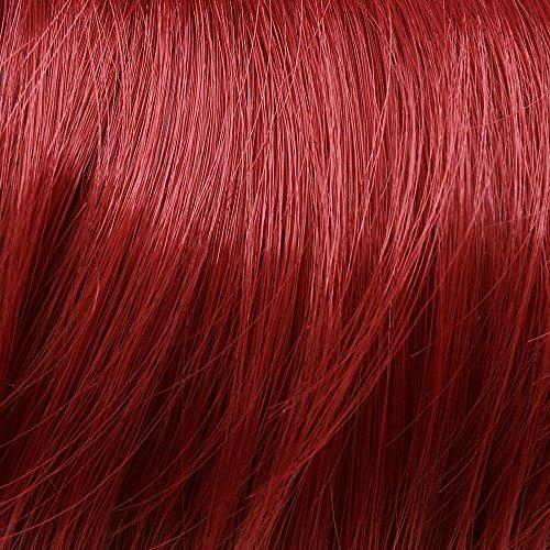 Prettyland - DQ138 50 cm lange Volumen gewellt one-piece Clip-In-Extensions Haarverlängerung Haarteil - R02 intensiv Rot