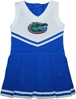 University of Florida Gators Baby and Toddler Cheerleader Bodysuit Dress