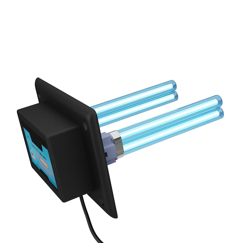Purificador de aire para toda la casa, luz UV en conducto para Hvac Ac (aire acondicionado) filtro germicida de conducto + 2 bombillas de repuesto: Amazon.es: Hogar