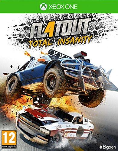 Bigben Interactive FlatOut 4: Total Insanity, Xbox One Básico Xbox One Inglés vídeo - Juego (Xbox One, Xbox One, Racing, Modo multijugador, Soporte físico)