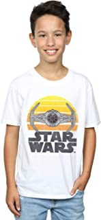 Star Wars Niños Sunset Tie Fighter Camiseta