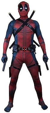 Unisex Superhero Spandex Zentai Halloween Cosplay Costumes Adult/Kids 3D Style
