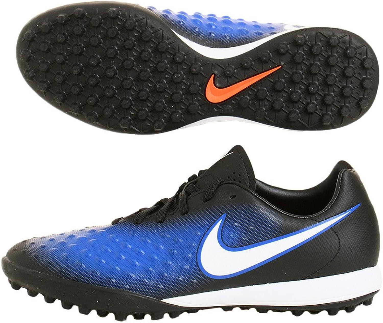 Nike Mens Magistax Onda II TF Black White Paramount bluee Soccer shoes