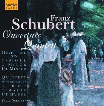 Schubert: String Quintet in C Major, D. 956 / Overture in C Minor, D. 8A