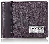 Quiksilver Freshness Plus, Monederos. para Hombre, Color negro, Medium
