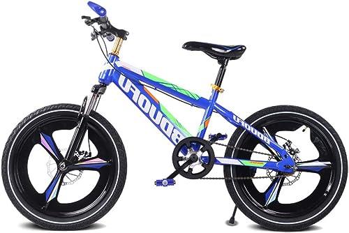SJSF Y Mountainbikes, 16 Zoll, 18 Zoll, 20 Zoll Kinder fürrad Jungen mädchen Outdoor Reiten Kinderspielzeug Einstellbare H  Doppelbremse Rutschfeste Sicherheit,20inch