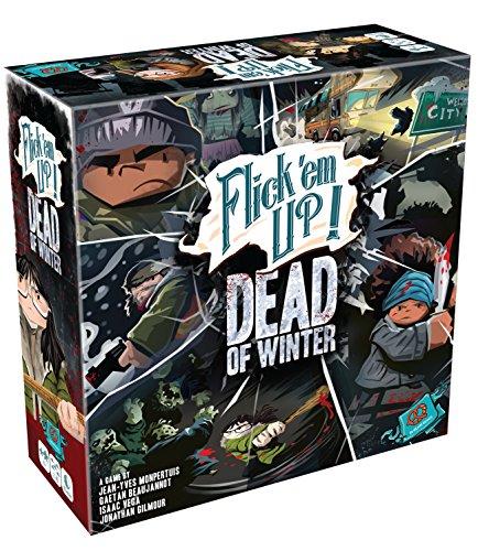 Plan B Games 30030PZG Flick em Up Dead of Winter Game