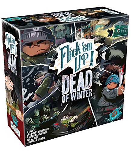 mächtig der welt winter der toten Bretzel Games PZG30030DE Flick'em Up: Dead of Winter Mixed Colors