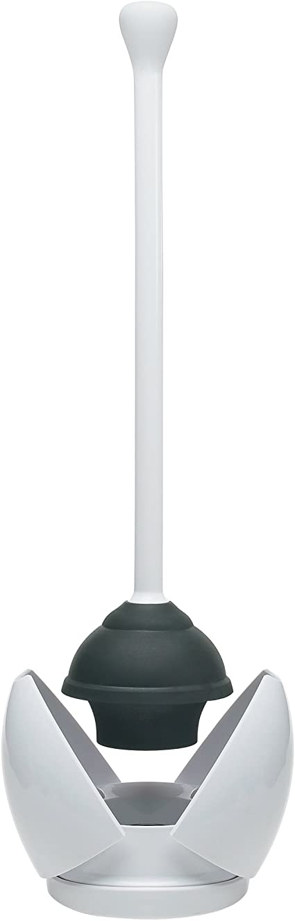 OXO Good Grips Hideaway Toilet Plunger and Canister