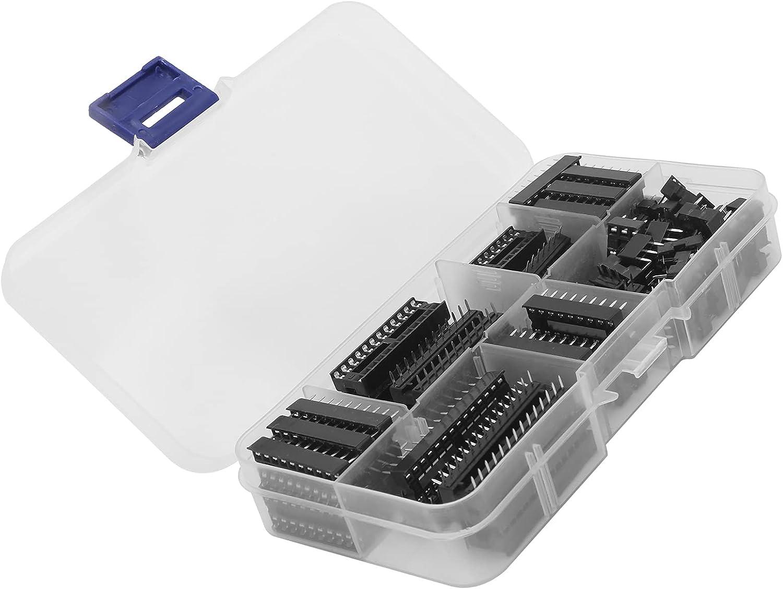 Gaeirt IC Assortment Max 87% OFF Kit 2.54mm Socket Set Max 83% OFF DIP for