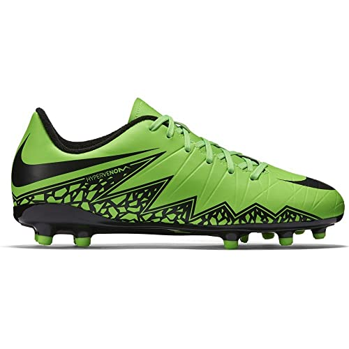 097045c36cd1 Nike Youth Hypervenom Phelon II Firm Ground (Green Strike Black)