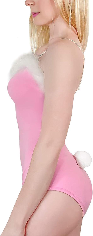 LittleForBig Mameluco de algod/ón Pijamas con tirantes y cuello redondo Conejo de az/úcar