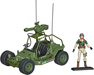 Hasbro G.I. Joe Retro A.W.E. Striker Exclusive Vehicle with 3.75-Inch Crankcase Figure