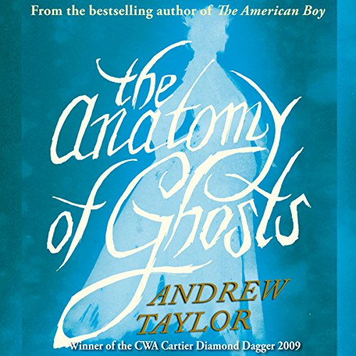 The Anatomy of Ghosts audiobook cover art