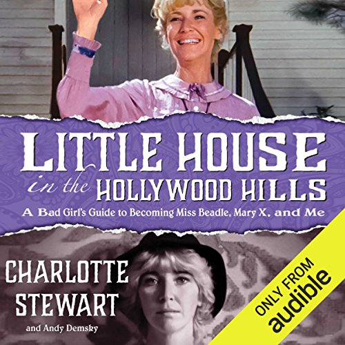 Little House in the Hollywood Hills audiobook cover art