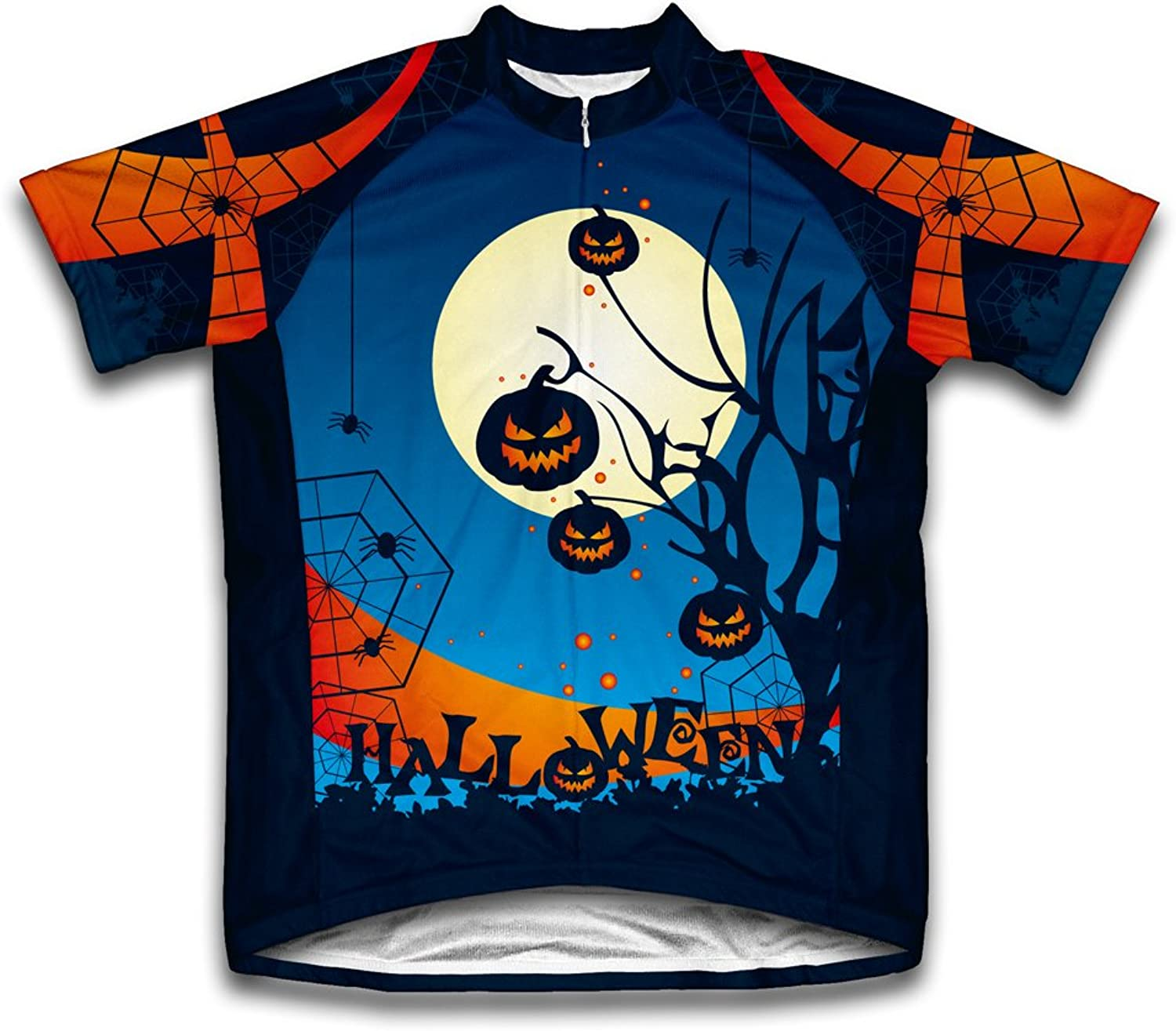 Midnight Creeps Short Sleeve Cycling Jersey for Men