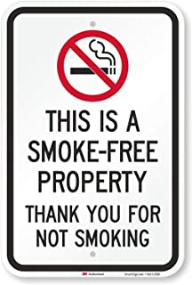 Best thank you for not smoking sign Reviews