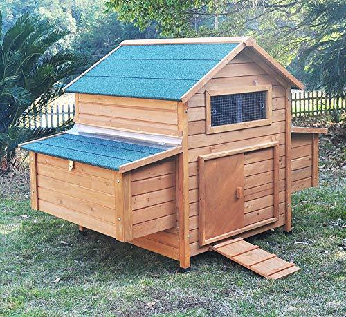 """Hühnerstall Hühnerhaus Chickenhouse Nr. 02 """"Gluckshaus"""" mit legebox und Wanne"""