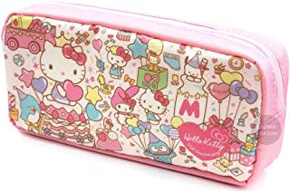 Sanrio Nylon Pencil Case,Coin Pouch,Cosmetic Bag (Sanrio Characters [ S1418181 ])