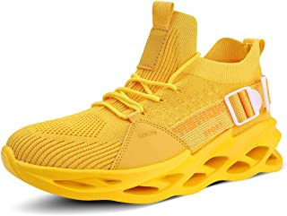 XINBANG Men's Running Athletic Shoes Casual Slip Fashion Sneakers for Men