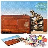 Star Wars Episodio VII El Despertar de la Fuerza 2015 Puzzle 1000 Piezas Arte DecíDete A Quedarte En Casa Esta Es Una Buena OpcióN para Reuniones Familiares