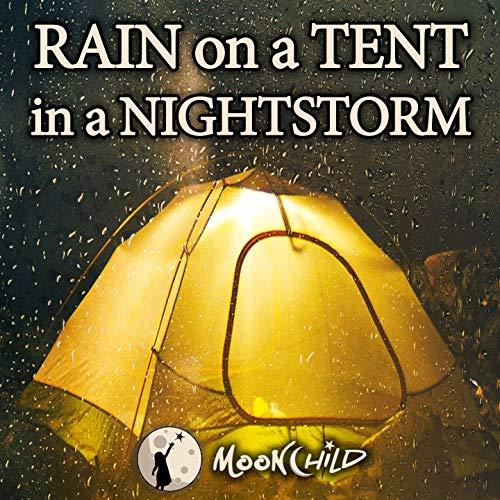 Regen auf meinem Zelt