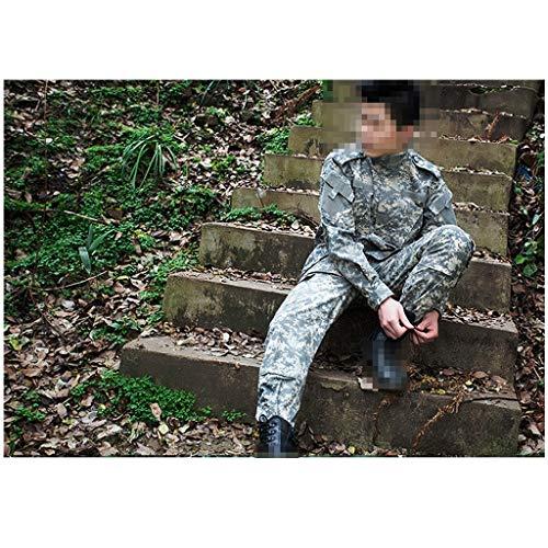QARYYQ Camouflage kleding jacht schieten jungle verborgen jacht sport klimmen mountainbike militaire uniform militaire training kleding spel pak camouflage