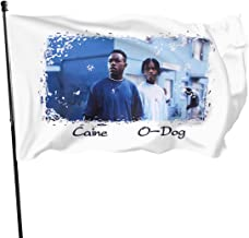 JDQP Bandera Menace II Society 1993 Flag Vivid Color and UV Fade Resistant with Brass Grommets 3 X 5 Feet 3x5'' Flag