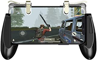 Portable GameSir F2 Mobile Phone Joystick Game Controller Grip Case with Sensitive Shooting and Aiming Trigger Clips for S...