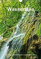Wasserflle in Deutschland, Frankreich und auf den Britischen Inseln (Wandkalender 2021 DIN A4 hoch): Wasserflle in Deutschland, Frankreich und auf den Britischen Inseln (Monatskalender, 14 Seiten )