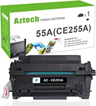 Aztech Compatible Toner Cartridge Replacement for HP 55A CE255A 55X CE255X (Black, 1-Pack)