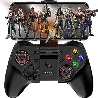 XYXZ Gamepad Controller Joysticks Gamepad Móvil, Mapeo De Teclas Inalámbrico Gamepad Joystick Perfecto Para Ios Android Ip...