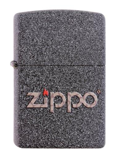 Zippo 60001357 Snakeskin logo aansteker, messing, grijs