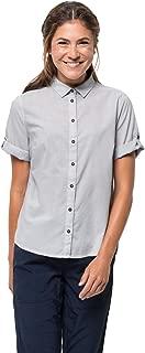 Women's Indian Springs Cotton-rayon Blend Short Sleeve Shirt