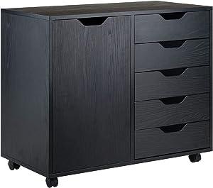 Winsome Wood Halifax Storage/Organization, Black