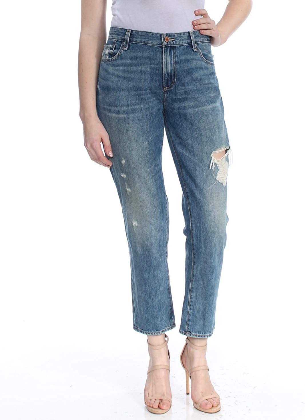 Lucky Spring new work Brand Women's Max 85% OFF Mid Rise Sienna Hatch Slim Jean in Boyfriend