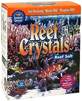 Instant Ocean Reef Crystals Reef Salt 56 Pounds, Formulated Specifically For Reef aquariums