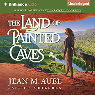 The Land of Painted Caves audiobook cover art