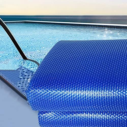 Cubierta Piscina/Cobertor Piscina Azul Burbuja Cubierta Sola