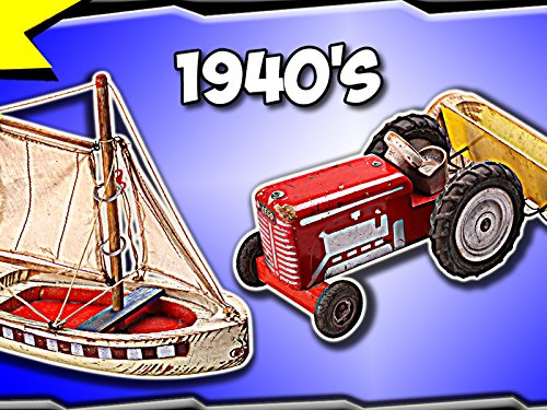 Clip: 1942 Sailship and 1949 Tractor