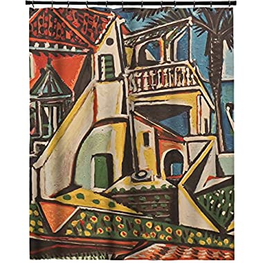 RNK Shops Mediterranean Landscape by Pablo Picasso Extra Long Shower Curtain - 70 x90