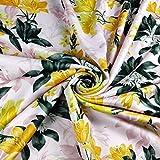 FS357_2 Lily Stargazer Stoff, Tulpen mit Blumendruck,
