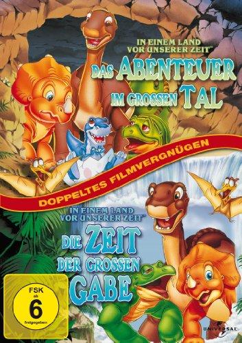 In einem Land vor unserer Zeit: Das Abenteuer im großen Tal / Die Zeit der großen Gabe [2 DVDs]