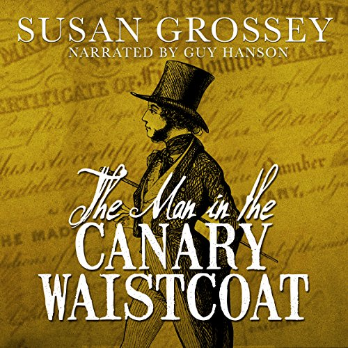 The Man in the Canary Waistcoat audiobook cover art