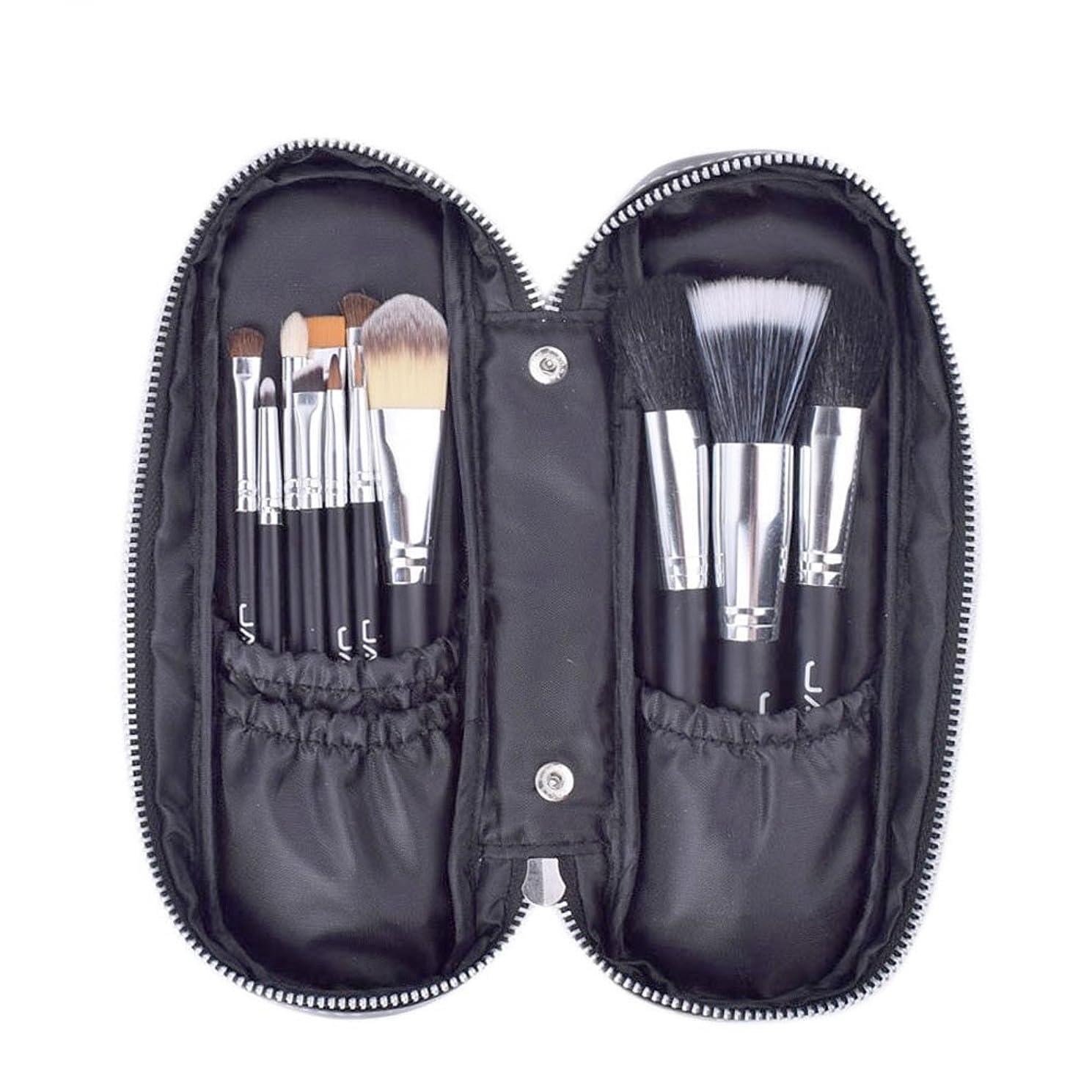 偶然限定プレゼンメイクブラシ 12セット 化粧筆 高級タクロン レザーケース付き ブラシセット プロ 美容 メイクアップブラシ&ツール