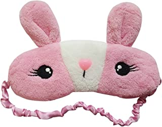 Ayygiftideas Christmas Cute Pink Rabbit Health Care Sleep Patch Eye Mask Blinder