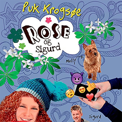 Rose og Sigurd audiobook cover art