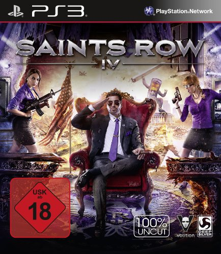 Saints Row IV - (100% uncut) - [PlayStation 3]