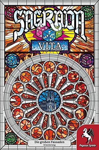 Pegasus Spiele 51123G - Sagrada: Vita [Erweiterung]